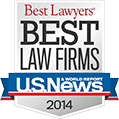 Best Law Firms - US News 2014